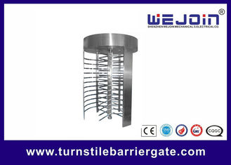 Chiny RFID barrier gate Security Full height Turnstile for Subway , Metro fabryka