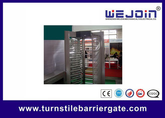 Chiny Electronic pedestrian barrier gate / Subway Access Control Turnstile Gate fabryka